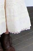 チョコレート色のブーツ
